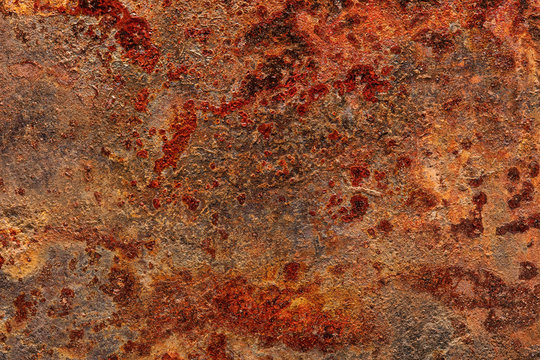 Grunge rusted metal sheet background