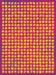 colourful spotted poster background.