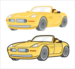 Moder Car Vector Design