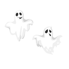 Isolated spooky ghosts.
