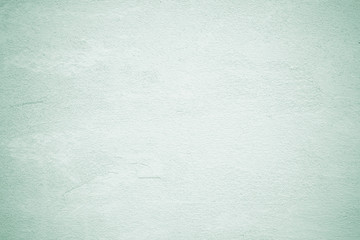 Fotobehang - Empty green vintage grungy cement wall background texture