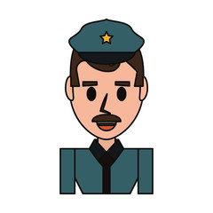 Police officer cartoon