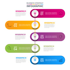 Business infographics design elements template graphic illustration