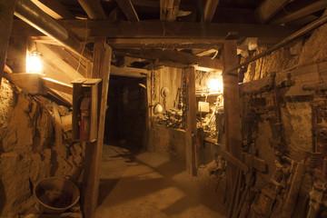 Interior old Goldmine