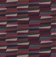 Abstract seamless pattern with ethnic elements. Can be used for the design of textiles, fabrics, wallpapers and backgrounds