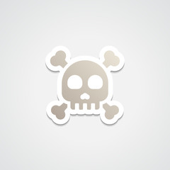 Emoji Skull & Crossbone