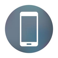 Farbiger Button - Smartphone