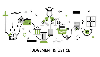 Greenery concept of judgment process