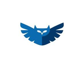 Canvas Prints Owls cartoon Owl logo