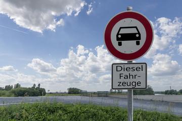 Fahrverbot, Diesel, Himmel