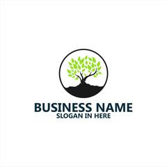 Tree Logo Template Design