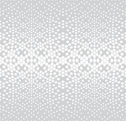 hexagon halftone gradient geometric deco pattern background