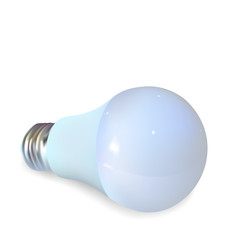 Bulb, realistic vector illustration