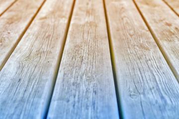 Holz Textur - blau und gelbfarben