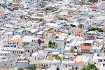Lindos town. Rhodes island, Greece