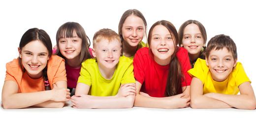 Group children