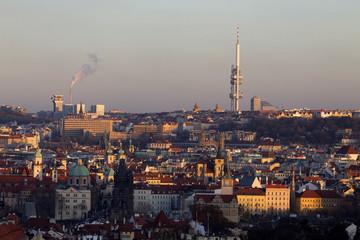 View on Prague City, Czech Republic