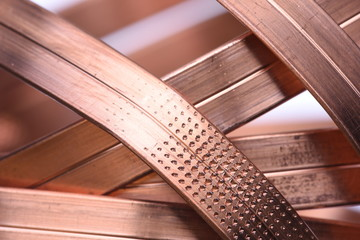 Copper raw materials industry