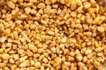 Fried garlic flakes high definition pattern