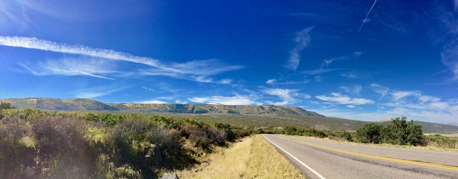 Panoramic Grand Mesa National Forest