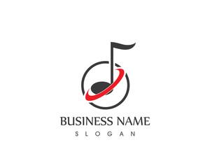 Music Symbol Logo