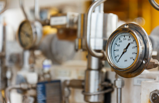 Pressure gauge for monitoring measure pressure production process, Oil and gas or petroleum,Offshore energy and petroleum industry is major of the world