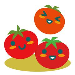 トマトの親子