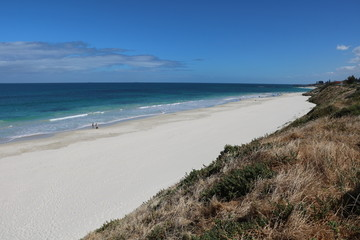 Port Beach Fremantle at Indian Ocean, Western Australia
