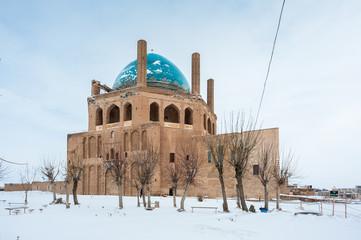 Soltaniyeh Dome,  Soltaniyeh District of Abhar County, Zanjan Province, Iran.