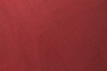 The red fabric texture background.