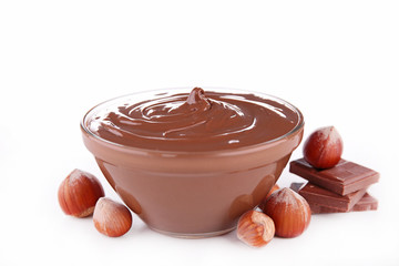 bowl of chocolate spread