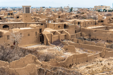 Ruins of the old city of Meybod, Iran
