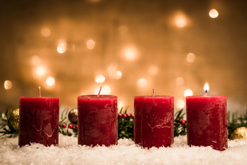 besinnlicher erster advent
