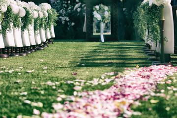 バラのある風景、イングリッシュガーデン
