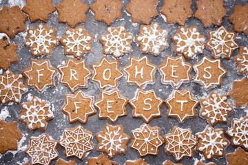 Plätzchen mit Text #Weihnachten