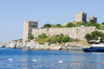 Bodrum or St. Peter's Castle from the south-east