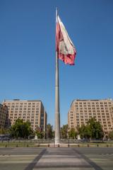 Santiago Chile Flag