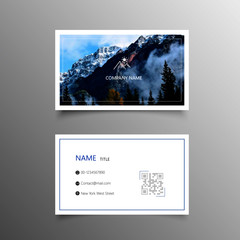 picture business card template