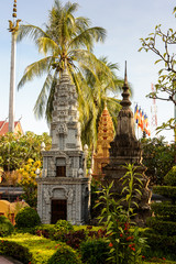 Prumrot Vat, one of the Buddhism temples in Siem Reap, Cambodia/