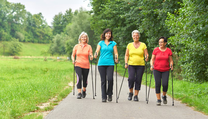 Nordic Walking - Frauengruppe