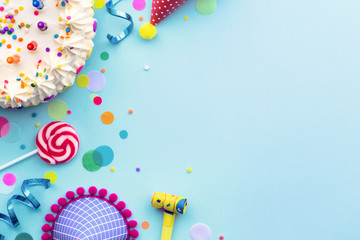 Birthday party background