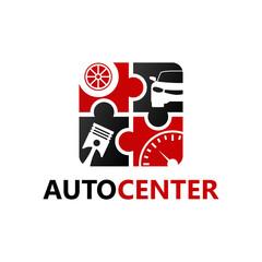 Automotive Center Logo Template Design