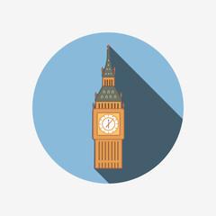 Big Ben in Westminster, London