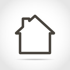 House icon. Vector illustration