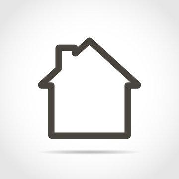 House icon. Vector illustration