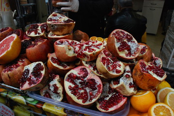 Fruits marché Istanbul