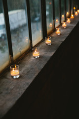 Candles on the Windowsill