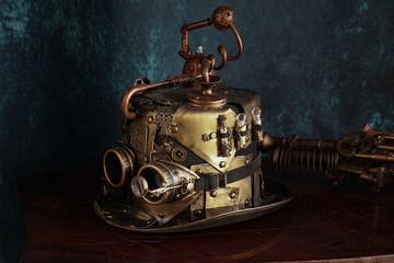 Steampunk  cappello distilleria fine 800