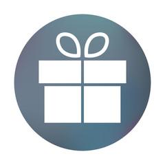 Farbiger Button - Weihnachtsgeschenk