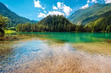 Wall Mural - Scenic Tyrol Lake